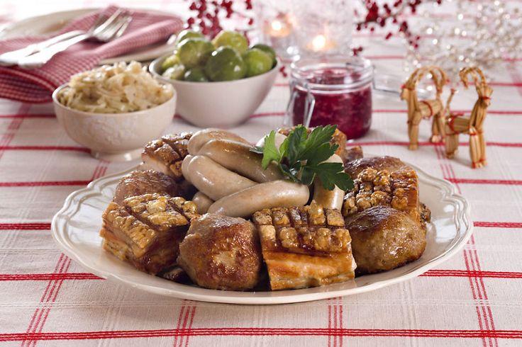 Om du spiser ribbe, pinnekjøtt, torsk eller kalkun – her finner du oppskrifter på alt tilbehøret til julemiddagen.