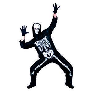 Kostuum Skelet - De Kaborij - Carnavals & Feestkleding € 15.99