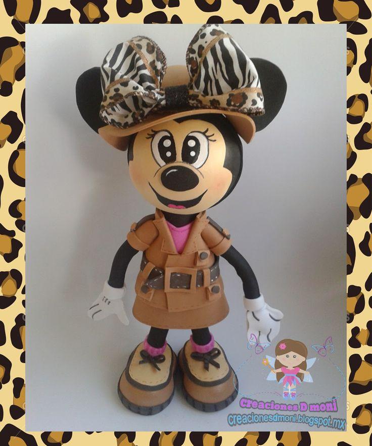 creaciones D Moni: fofu fashion minnie safari!