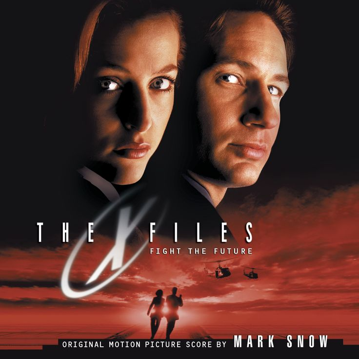 THE X-FILES: FIGHT THE FUTURE. Music by Mark Snow. Limited Ediiton of 3000 Units.