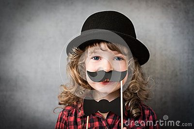 Funny Hipster Kid - Download From Over 50 Million High Quality Stock Photos, Images, Vectors. Sign up for FREE today. Image: 44229360