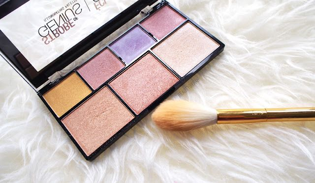 NYX STROBE OF GENIUS ILLUMINATING PALETTE // Review and Swatches