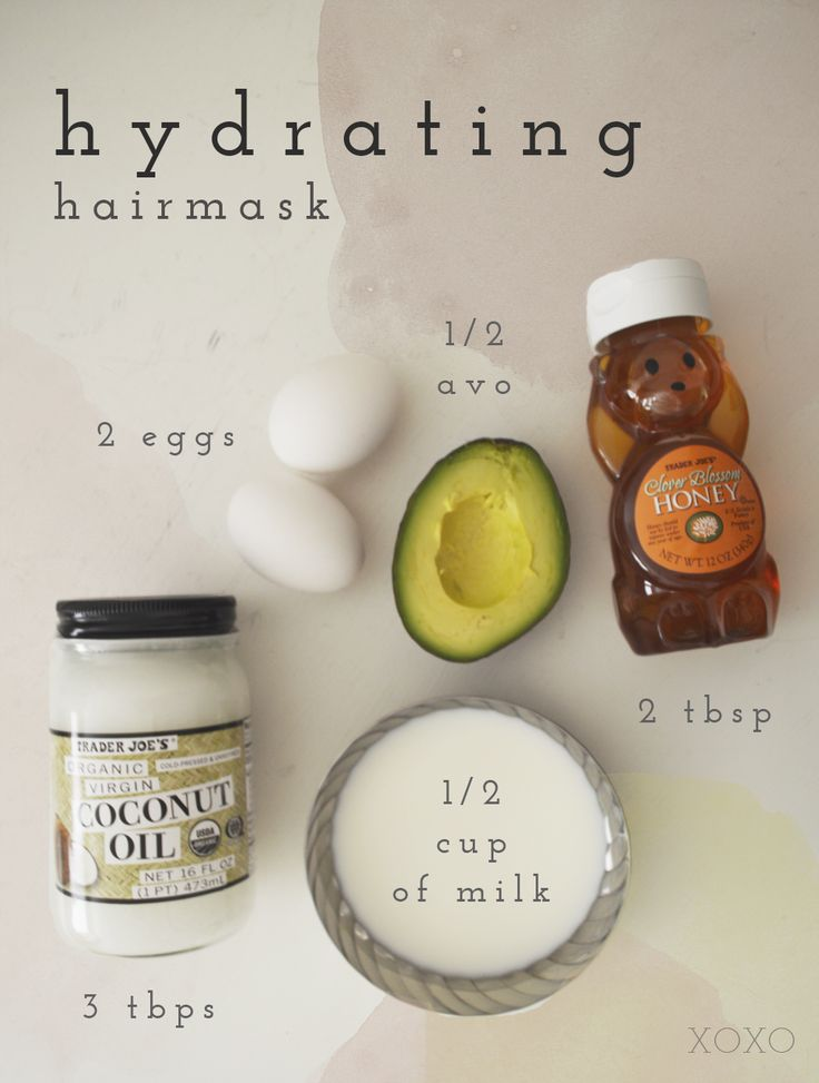 DIY Hydrating hairmask