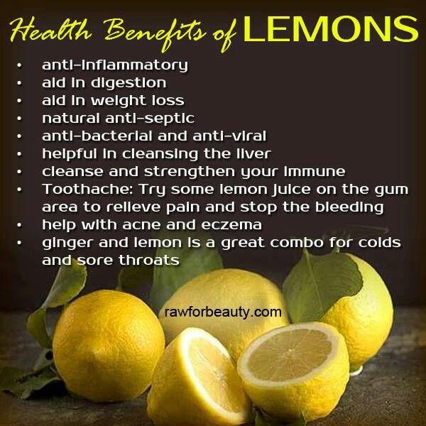When Gives Lemons Benefits Running: 24 Best Benefits Of Lemons Images On Pinterest