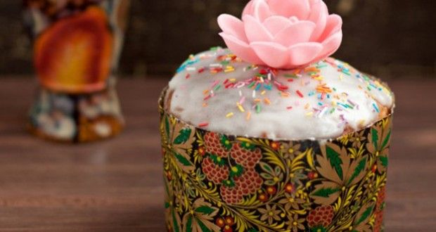 Kulich from Russia #easter #food