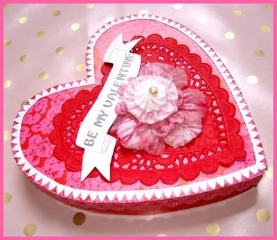 167 best Have a Heart: Boxes, Bags and Tags images on Pinterest ...