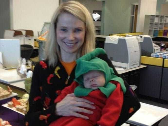 Marissa Mayer Doubles Yahoo's Paid Maternity Leave, Gives Dads Eight Weeks Off