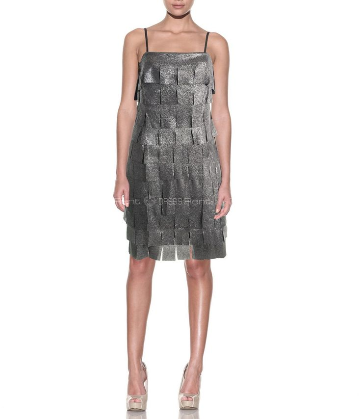 Платье - Js Collections | Tiered Dress Silver