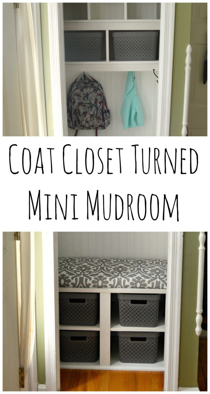 Best 25+ Coat Closet Organization Ideas On Pinterest | Entry Closet  Organization, Hall Closet Organization And Organize Cleaning Supplies