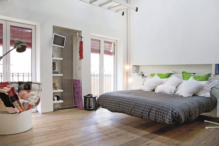 Fluttua Bed by Daniele Lago, Appartamento Lago Alicante  #cameradaletto #arredamento