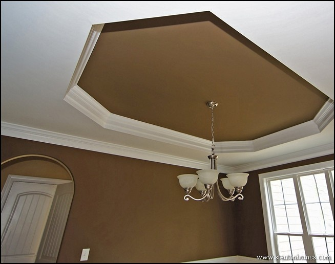Trey Or Tray Ceilings: What Does A Tray Ceiling Look Like