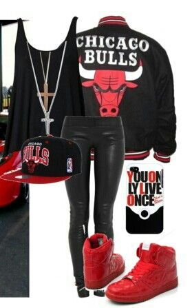 Chicago Bulls outfit                                                                                                                                                                                 More