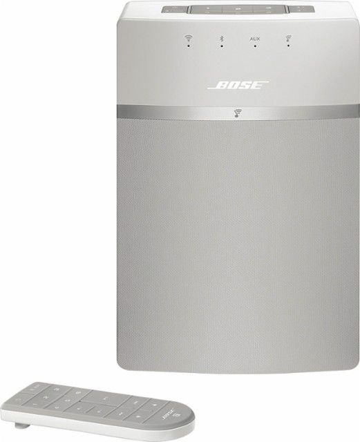 Bose SoundTouch 10 Wireless Music System White SOUNDTOUCH 10 WIRELESS WHT - Best Buy