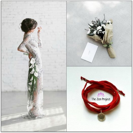 Lotus Silk Bracelet for dreamers like you and me!