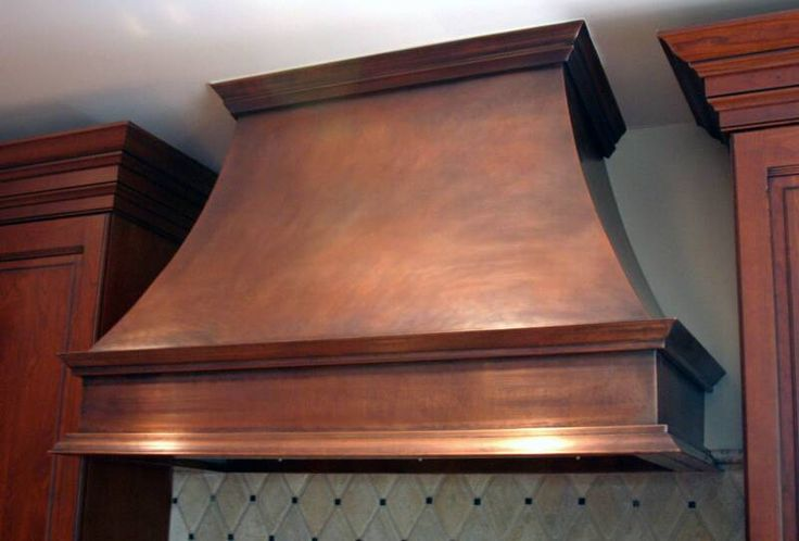 Wood Range Hood Plans | If your ears pop when you turn on your kitchen fan, you'll probably ...