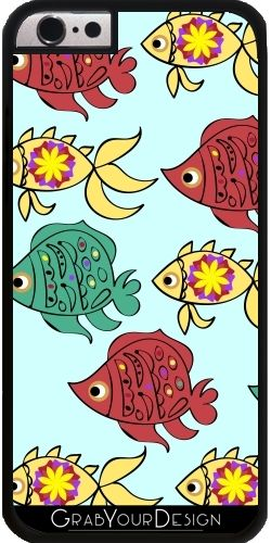 GrabYourDesign - Case for Iphone 6/6S Fish pattern - by Luizavictorya72