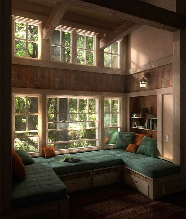 cozy window seats and bay windows – 36 cool current ideas