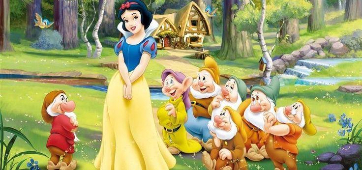 Pamuk prenses ve yedi cüceler masalı