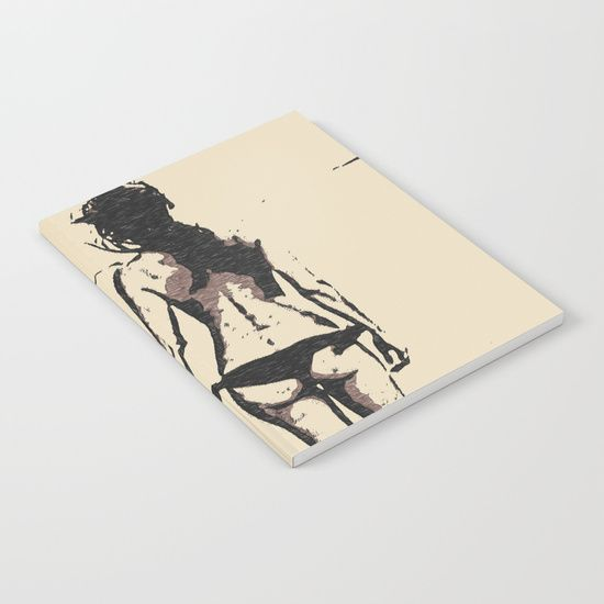 #Bikini #Girl - sexy #conte - Also buy this #artwork on #stationery, apparel, stickers, and more. #sexy #girl #nude #erotic #kinky #naughty #dirty #notebooks #sketchbook #society6 #booty #rough #sketch