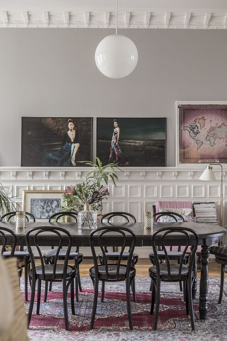 At home with designer Bobo Andersson via Volang blog. Photo by Mari Strenghielm.