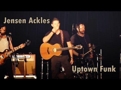Jensen Ackles Dancing - Uptown Funk - YouTube