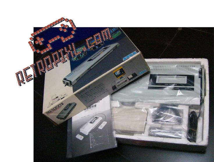The SEGA SG-1000 II is an updated version of the SG-1000 video game console, and was released by Sega in 1984.  This console is an extremely rare item, and perfect for collectors looking for unicorns.  This product is almost impossible to find in NEW condition. But there is 1 on Retropixl.com!
