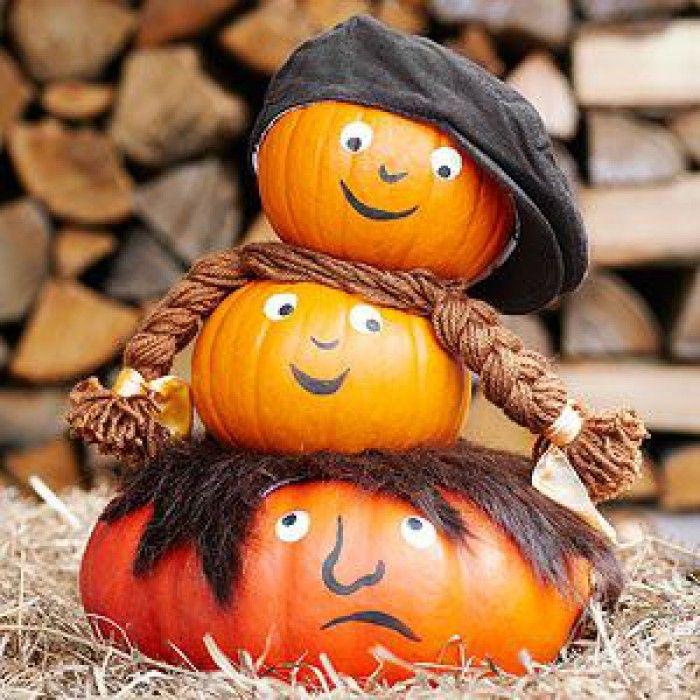 Leuk voor Halloween! Gezien op Pinterest