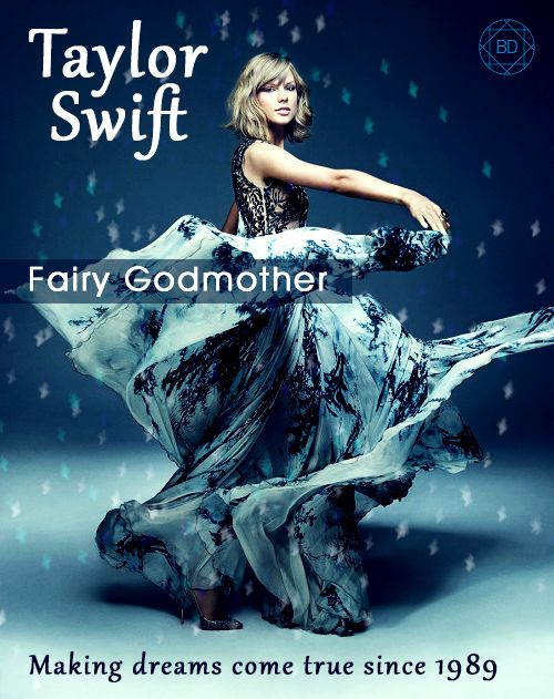 Taylor Swift_Fairy Godmother on Behance #poster design