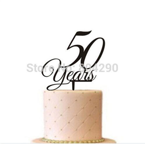 50 anni in love wedding acrilico cake topper anniversario di nozze partito decorazione della torta in             50 anni in love wedding acrilico cake topper anniversario di nozze partito decorazione della tda   su AliExpress.com   Gruppo Alibaba