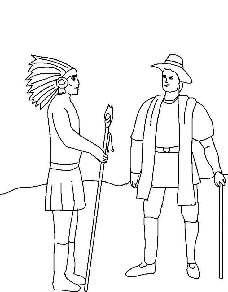 Pilgrim And American Indians