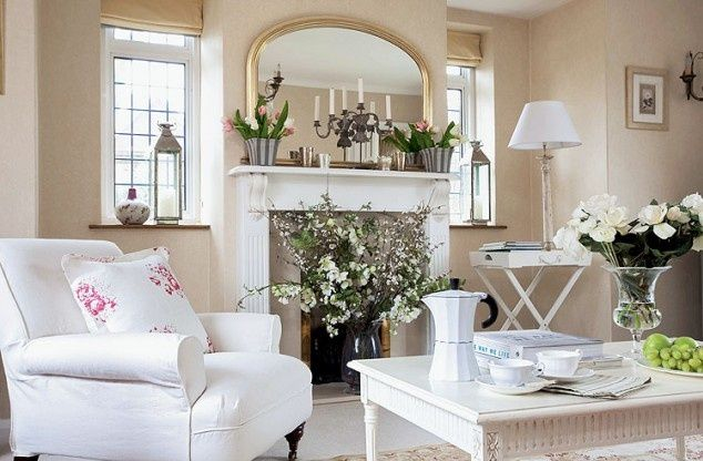 Shabby chic home shabby chic home pinterest - Deco maison shabby chic ...
