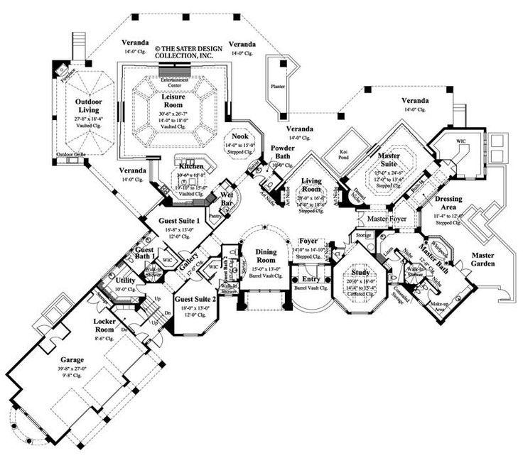 Mediterranean Mansion Floor Plans Design 77447630607: 17 Best Ideas About Mediterranean Homes On Pinterest