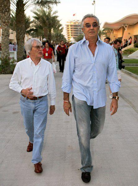 Der langjährige Renault-Teamchef Flavio Briatore wurde lange als...