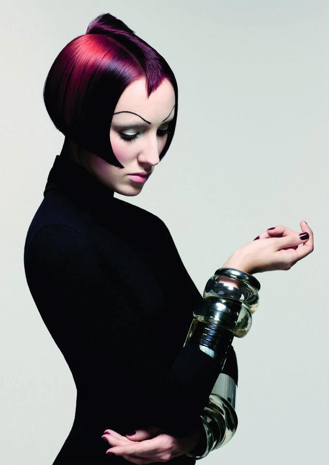 Sassoon Academy  #short #purple #pink #purpleandpink ♥ Reputation Line Inc. NY - Branding & Marketing