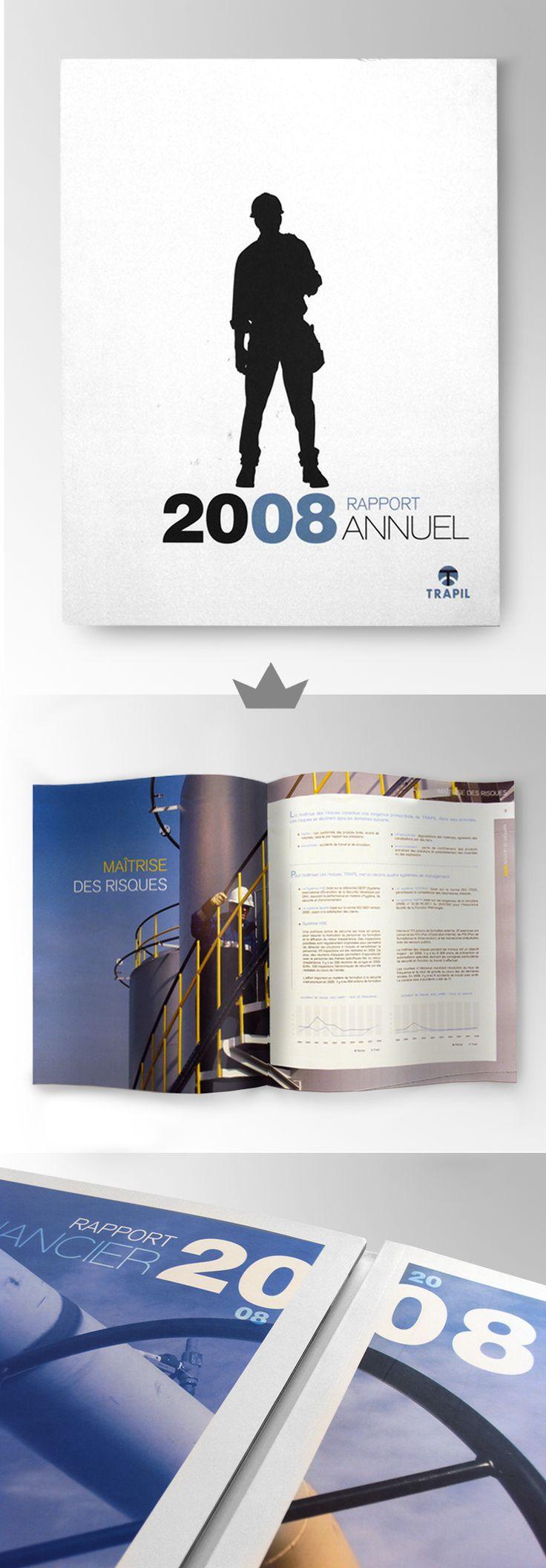 TRAPIL - Rapport annuel 2008
