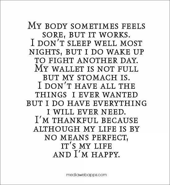 Im Happy Quotes: Im Happy With My Self Quotes. QuotesGram