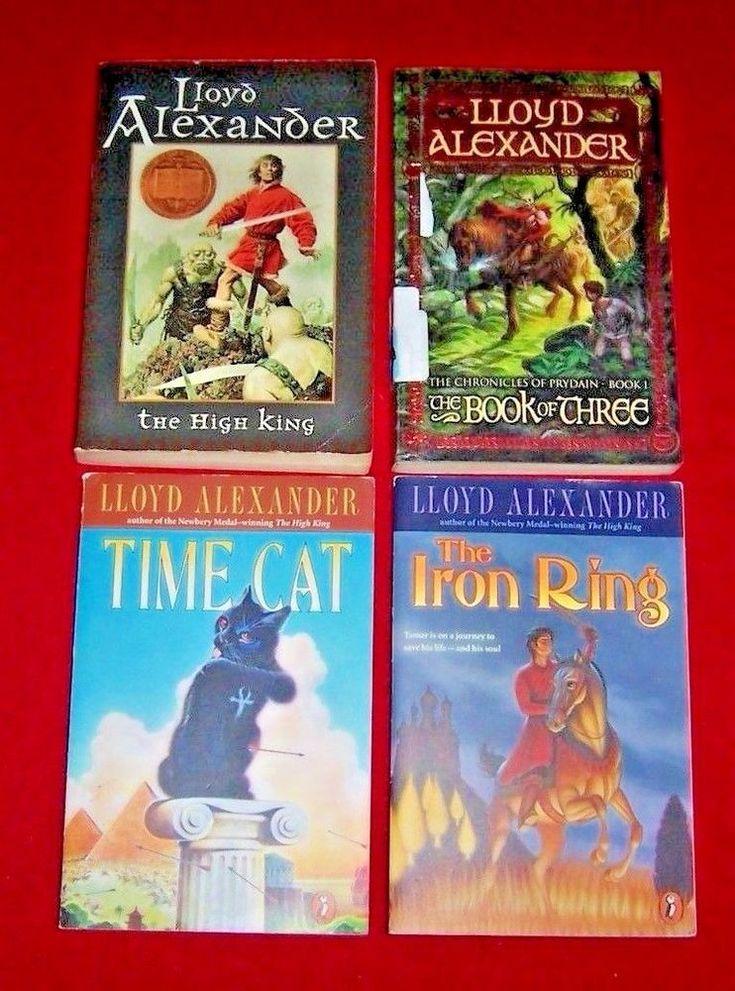 4 Time Cat High King Iron Ring Lloyd Alexander Newbery Level 5 Chapter Books