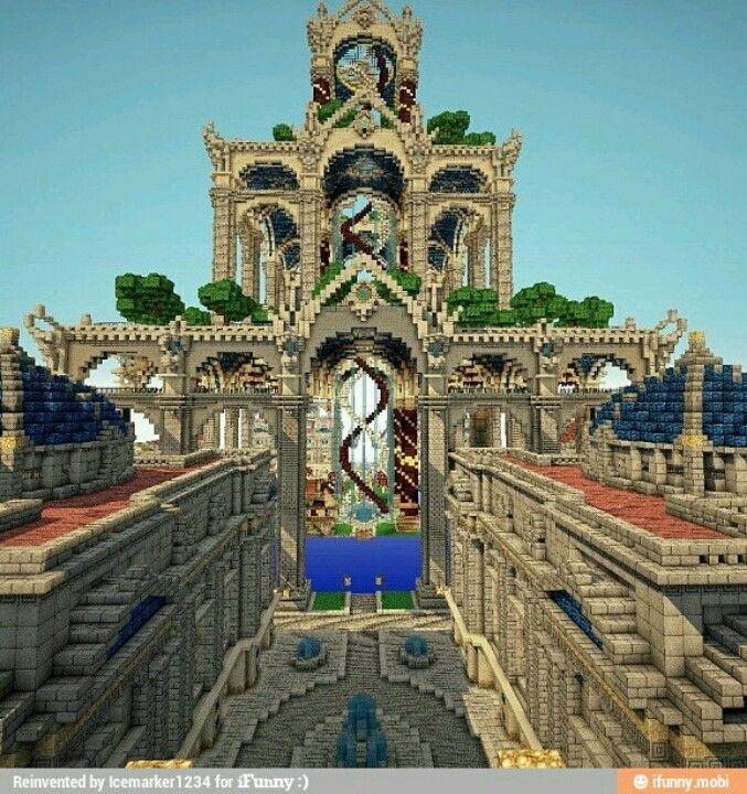 Minecraft Spiral Tower Staircase : Bästa idéerna om minecraftslott på pinterest