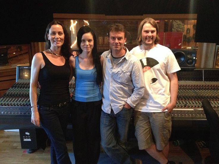 Manager Elisabeth Hagen,Me, Craig Ogden & producer James Mottershead