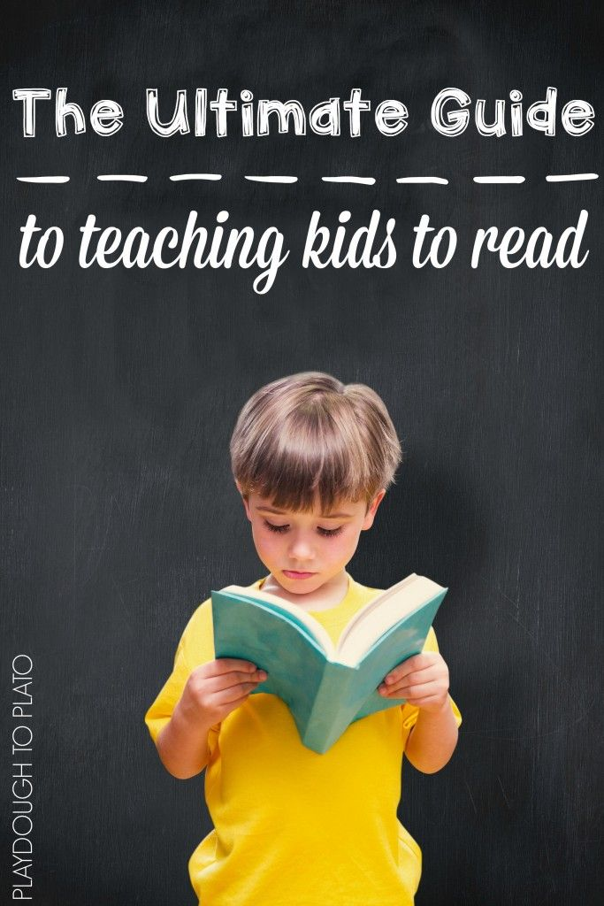 This is so helpful!! The step-by-step process for teaching kids how to read and simple ways to do it. The Ultimate Guide to Teaching Kids to Read.