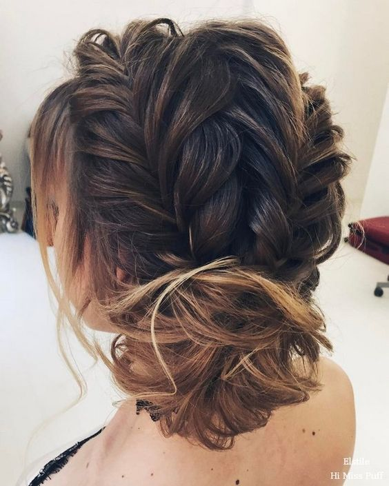 Long Wavy Hairstyle For Wedding 2: 25+ Best Ideas About Braided Updo On Pinterest