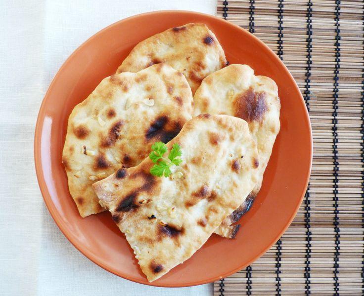 Indický chléb (placka) naan