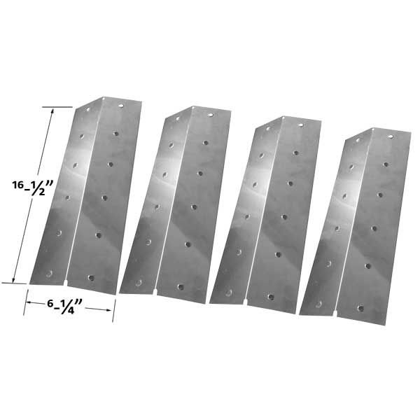 4 PACK STAINLESS STEEL HEAT PLATE FOR NEXGRILL 720-0057, 720-0057-3B, 720-0057-4B GAS MODELS Fits Compatible TURBO Models : 720-0057-3B , 720-0057-4B , 750-0058-4BRB , C3BSSTN , Captn Cook CG3CKW , Captn Cook CG3CKWN , Captn Cook CG4CKW , Captn Cook CK4CKWN , CG3CKW , CG3CKWN , CG3TCBN , CG3TCBRN , CG3TCN , CG3TDBRN , CG3TDN , CG3TDN Elite , CG4CKW , CG4CKWN , CG4TCBN , CG4TCBRN , CG4TCBRN Classic , CG4TCN , CG4TDBRN , CG4TDBRN Elite , CG4TDN , CG4TDN Elite , CG5TCBN , CG5TCBRN , CG5TCN…
