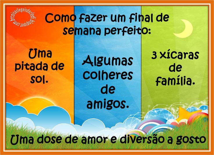 Blog Prosa Amiga: Bom domingo,que seja um dia especial e feliz!