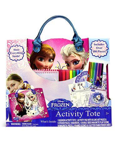 Frozen Fashion Activity Tote by Frozen #zulily #zulilyfinds