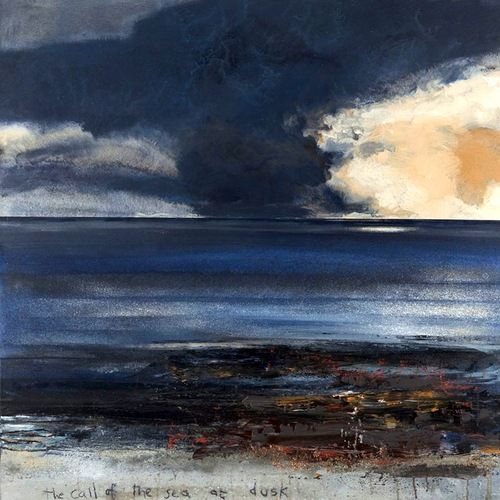 Kurt Jackson The call of the sea at dusk. 2013