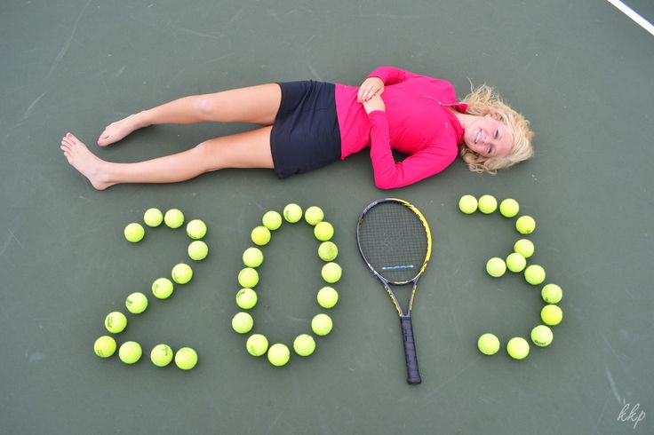 Senior Picture by Kelly Saunders -- Tennis