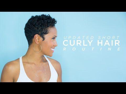 Short Curly Hair Routine [Video] - Black Hair Information Community