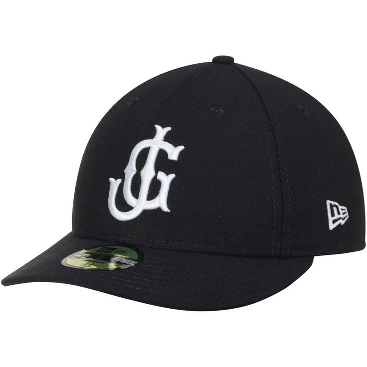 Jackson Generals New Era Home Authentic Collection On-Field Low Profile 59FIFTY Fitted Hat - Black