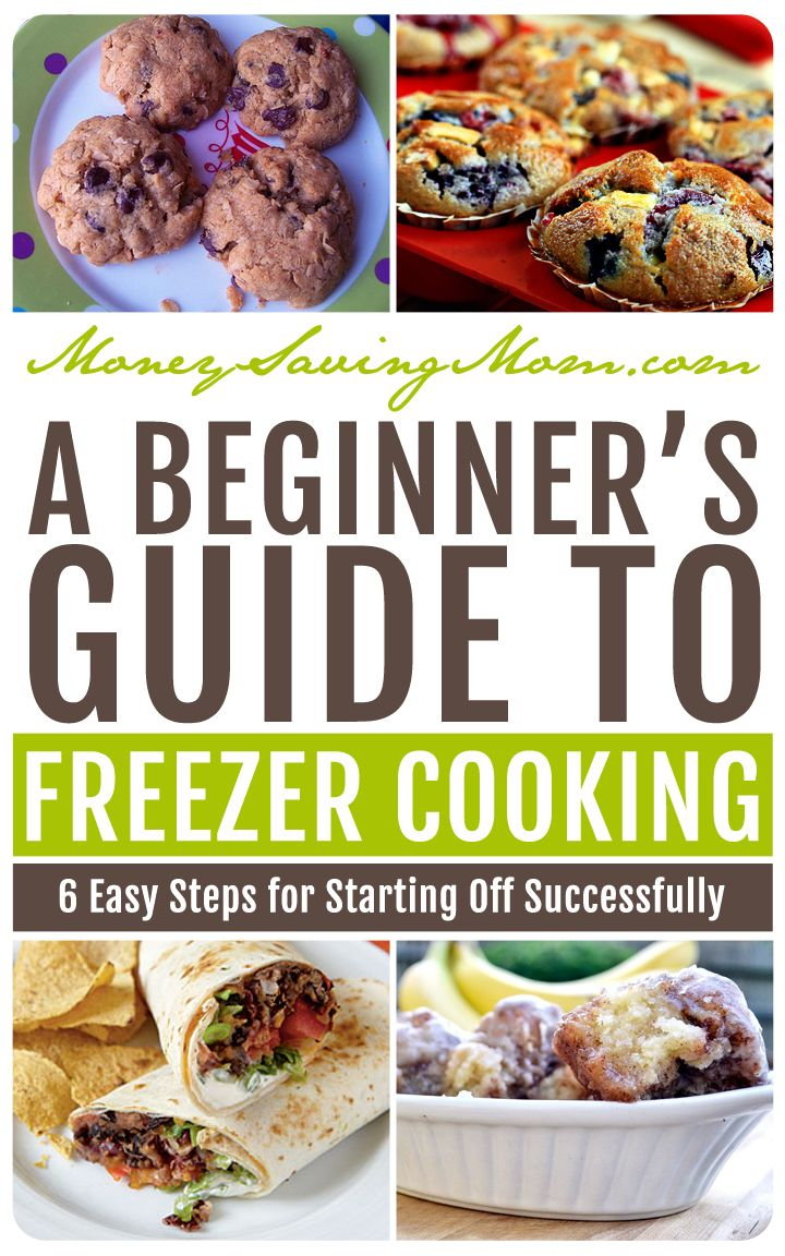 Think you might be interested in trying your hand at freezer cooking? Here are some suggestions for starting off successfully.